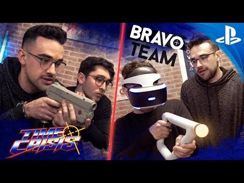 TIME CRISIS vs BRAVO TEAM - 1995 vs 2018