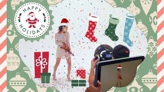 ARDEN GETS SHOT! (with Christmas cheer and confetti)