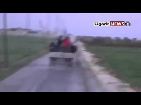 Syria Refugees Flee from Assad Idlib 3 20 12 Jerjanz