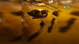 Travestilerin tüfekli kavgası kameralara yansıdı