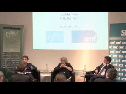 The social market and its discontents - analysing capitalism and public policy 15 April 2013