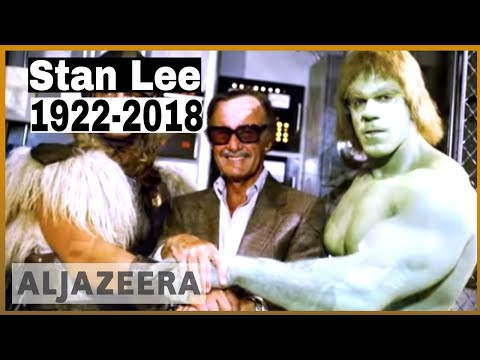 🇺🇸Comic book genius Stan Lee, creator of Spider-Man, dies at 95 | Al Jazeera English