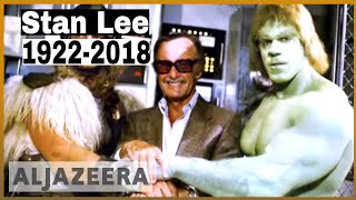 🇺🇸Comic book genius Stan Lee, creator of Spider-Man, dies at 95 | Al Jazeera English thumbnail