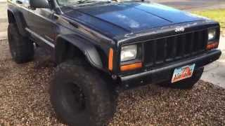 """How to fit 33"""" tires on a Jeep Cherokee XJ"""