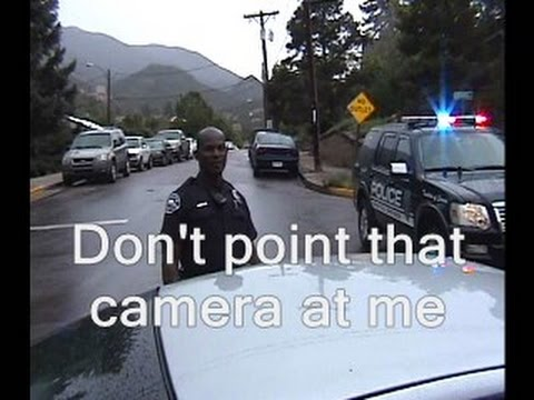 Cop orders me not to film him (Manitou Springs, Colorado)