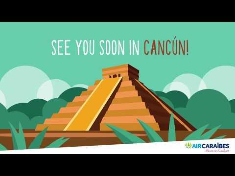 [ Cancún, nous voilà !  ]