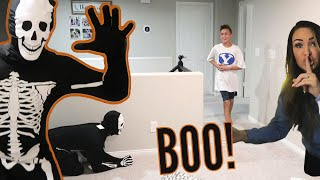 Halloween Prank is Successful! / Mom and Dad Announce Another SURPRISE!