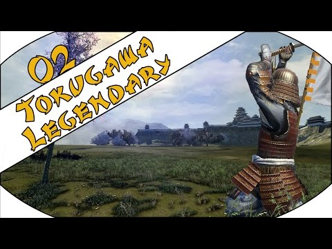 DEALING WITH INVADERS - Tokugawa (Legendary) - Total War: Shogun 2 - Ep.02!