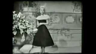 PEGGY KING & Steve Allen on her birthday 2/16/58
