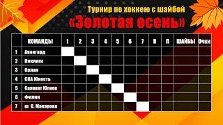 СКА-ЮНОСТЬ VS АВАНГАРД