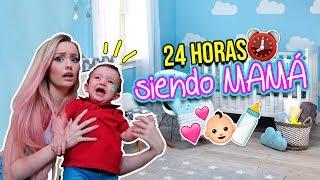 24 HORAS SIENDO MAMÁ ¡Auxilio! | Katie Angel