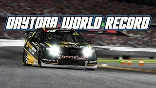 iRacing: Daytona World Record! (V8 Supercar @ Daytona)