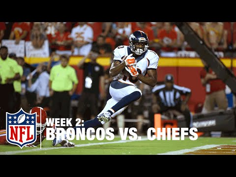 Peyton Manning Fires to Emmanuel Sanders for Game-Tying TD | Broncos vs. Chiefs | NFL