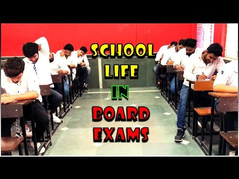School Life In Board Exams || Virat Beniwal