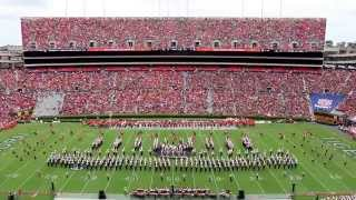 The Marching Southerners at Auburn University 09/12/2015