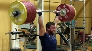 Dmitry Klokov - Training for Power Weekend 2016