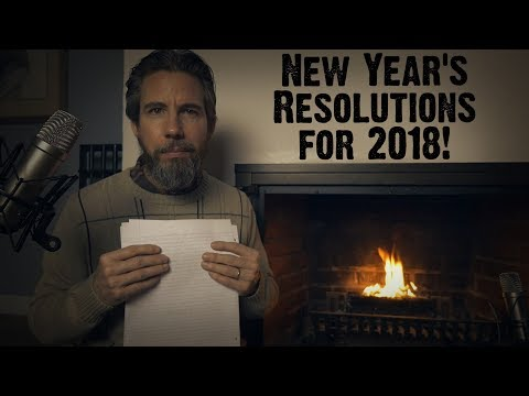 New Year's Resolutions for 2018 (ASMR)