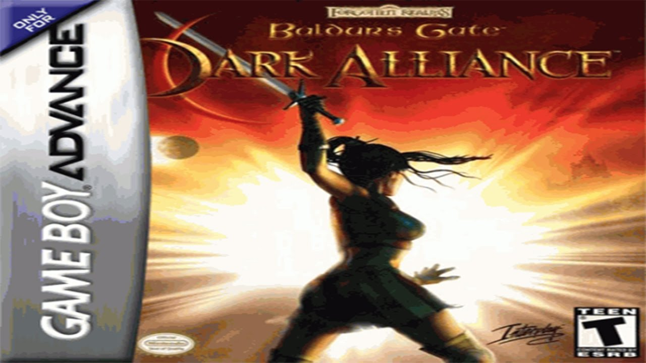 Baldurs Gate Dark Alliance Gba Espanol