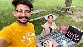 Wedding Anniversary Surprise | She Loved It | Romantic Outing Date With My Wife | Punjabi Vlogger