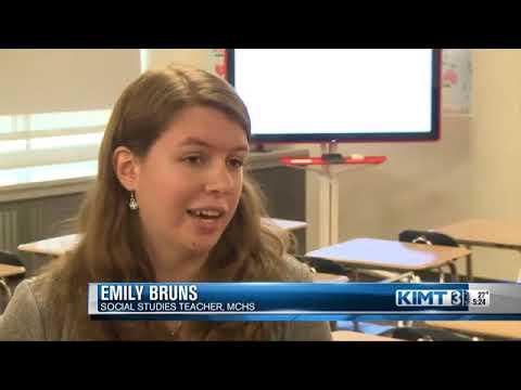 Google representatives visit Mason City High School