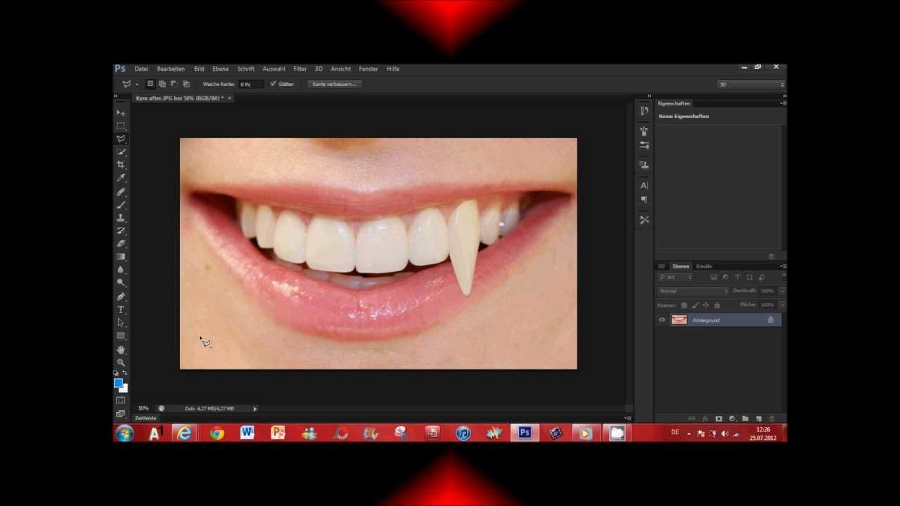 Как в фотошопе сделать вампира фото 34