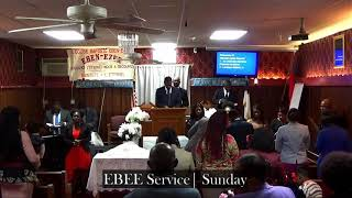 Eben-Ezer Baptist Church Live Stream