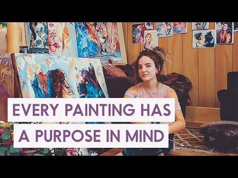 17 Year Old Changing the World with Art - Dimitra Milan | EP.1 Creative Minds