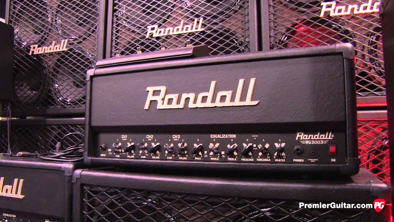 NAMM '13 - Randall Amplifiers Thrasher Demo