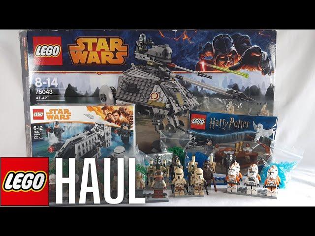 Mein erster Lego Haul - AT-AP Walker, über 30 Figuren,... [Haul, Unboxing]