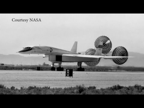 XB-70 Valkyrie On the Move in Dayton