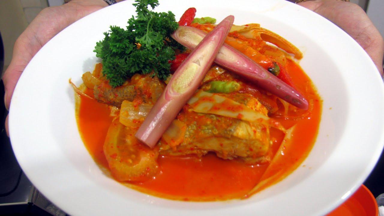 Snapper Soup Recipe - Resep Ikan Kakap Asam Pedas - YouTube