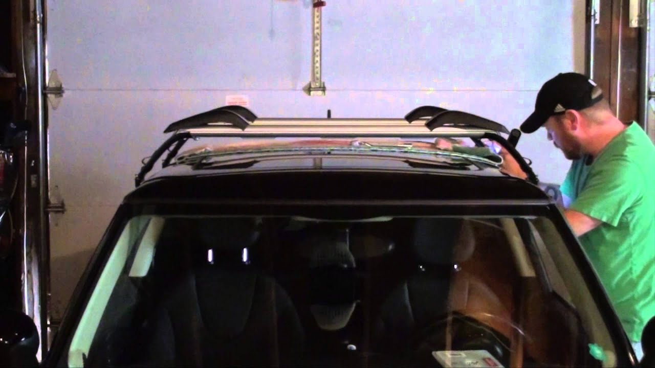 Mini Cooper Roof Rack Installation   YouTube