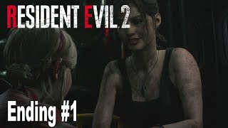 Resident Evil 2 Remake - Claire Redfield Ending and Credits #1 [HD 1080P]