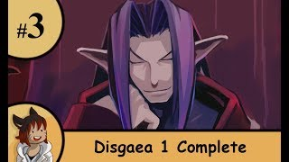 Disgaea 1 Complete part 3 - Our mid boos end