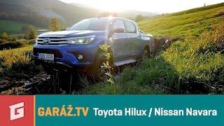 TOYOTA HILUX vs. NISSAN NAVARA - GARAZ.TV - Rasťo Chvála