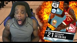 WHEN TRASH TALKING GOES WRONG! WITH THE BEST CARD IN THE GAME! NBA 2k17 MyTeam Gameplay