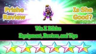 Final Fantasy Brave Exvius 6 stars Prishe Review: Yda X Rikku(#222)