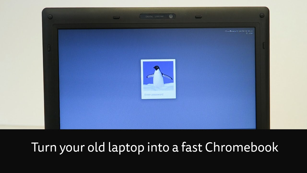 Turn your ageing laptop into a speedy Chromebook