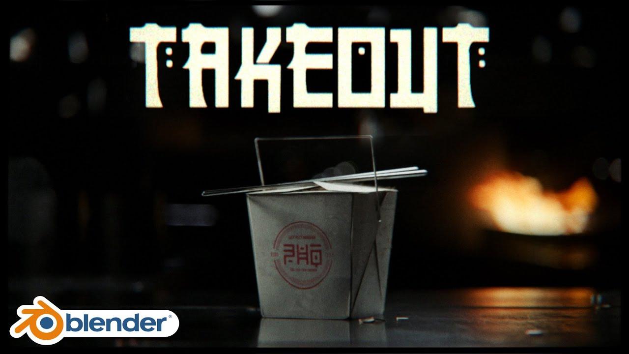 Download Takeout - Blender short