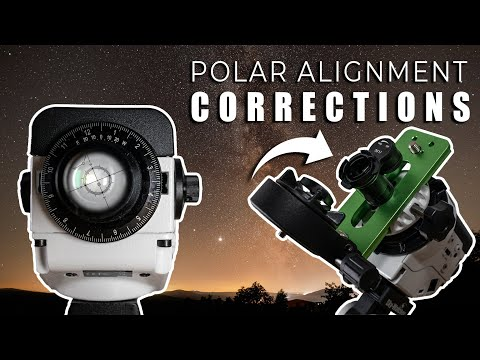 Correct Polar Alignment With Rotated Reticle And Framed Up Target On Sky Watcher Star Adventurer Youtube