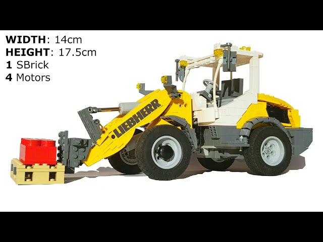 LEGO® Technic Liebherr L 506 compact wheel loader (full RC)