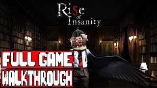 Rise of Insanity Gameplay Walkthrough Part 1 FULL GAME  No Commentary