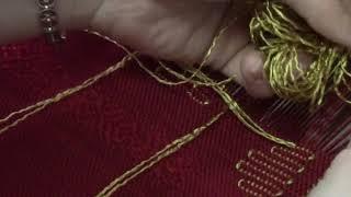 видео Узорное тканьё