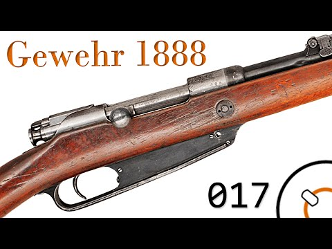 Small Arms of WWI Primer 017: German Gewehr 1888