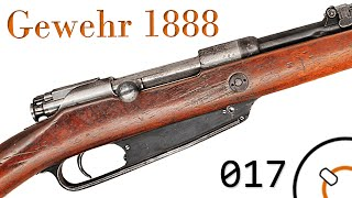 """Small Arms of WWI Primer 017: German Gewehr 1888 """"Commission Rifle"""""""