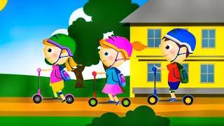 Dziecięce Przeboje - Hulajnoga (oficjalny teledysk)
