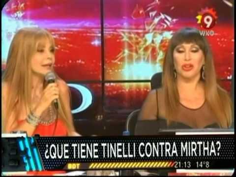 Mirtha, Tinelli y la bruja de Alfano