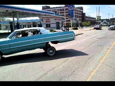 Outta control car club at cinco de mayo parade in saginaw for Motor cars lansing mi