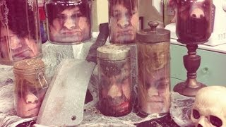 Heads In A Jar Halloween - Diy By Tanya Memme  (as Seen On Home & Family)