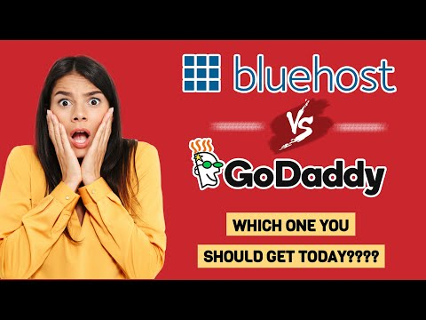 💥💥 Bluehost vs Godaddy: GET THE BEST ONE TODAY!!!!  💥💥